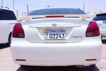 Toyota ferrosa iib ah Hargeisa
