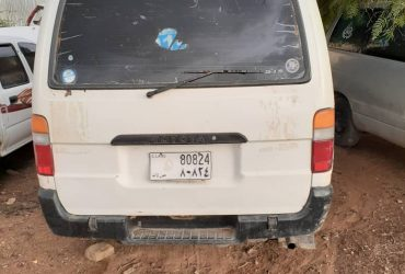 Toyota hiace mini bus iib ah wajaale