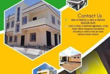 ESG construction company Hargeisa Somaliland