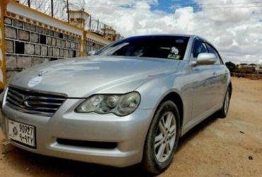 Toyota mark x iib ah hargeisa somaliland