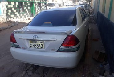 Toyota mark2 110 iib ah hargeisa