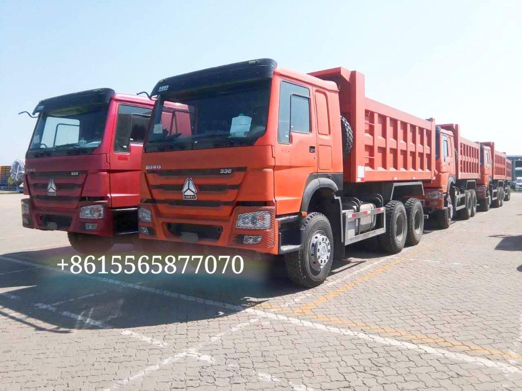 SINOTRUK HOWO 6×4 336hp 18m3 dump truck