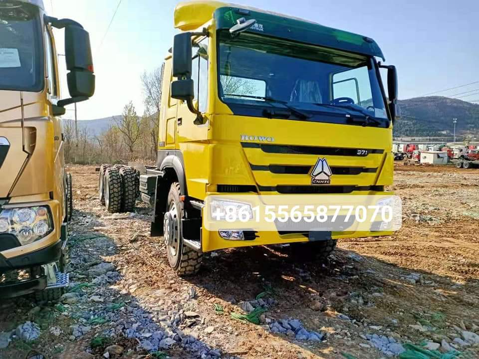 HOWO 6×4 371hp Cargo Chassis from China