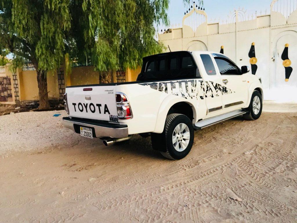 Toyota hilux pick up 2014 iib ah hargeisa