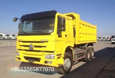 SINOTRUK HOWO 6×4 371hp dump truck with 12R24 tyres