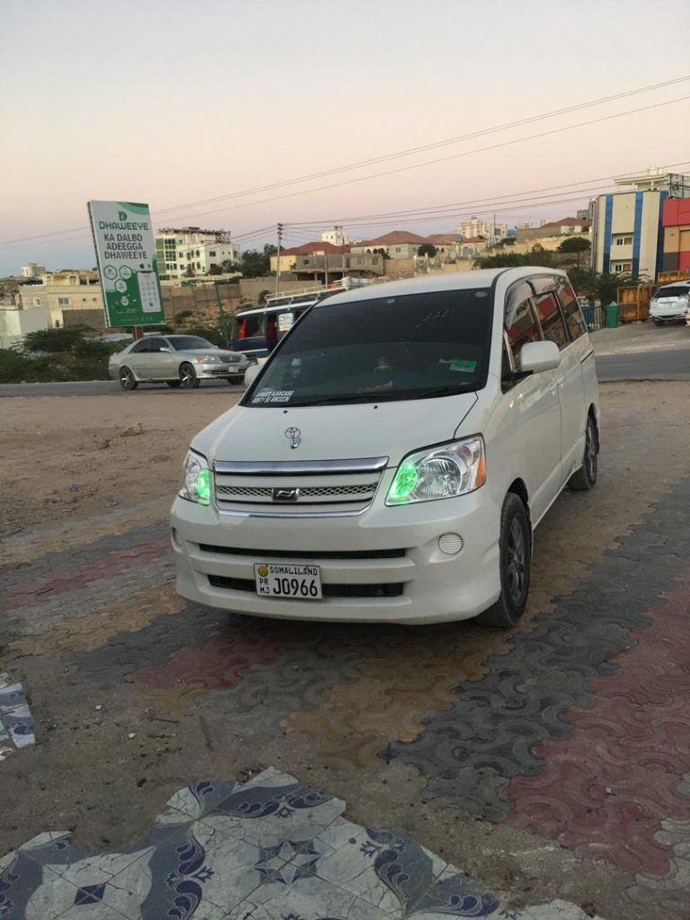 Toyota noah iib ah Hargeisa Somaliland