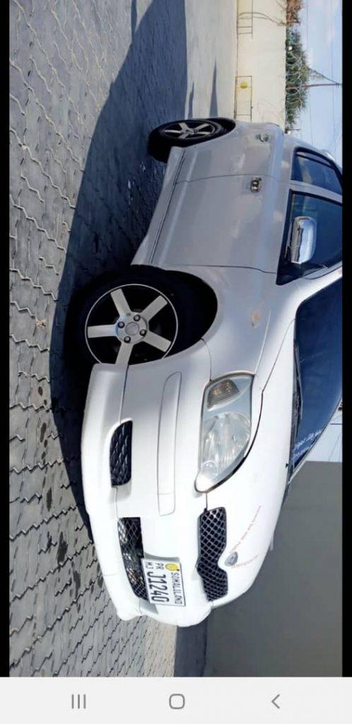 Toyota vitz iib ah Hargeisa Somaliland