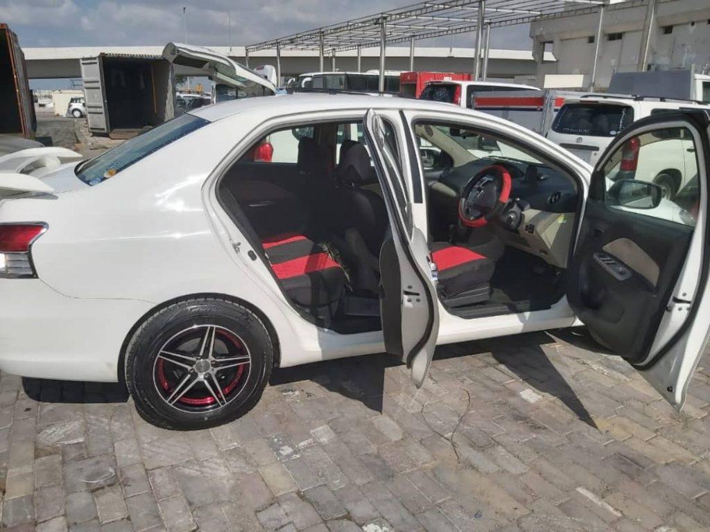 Toyota belta iib ah berbera port