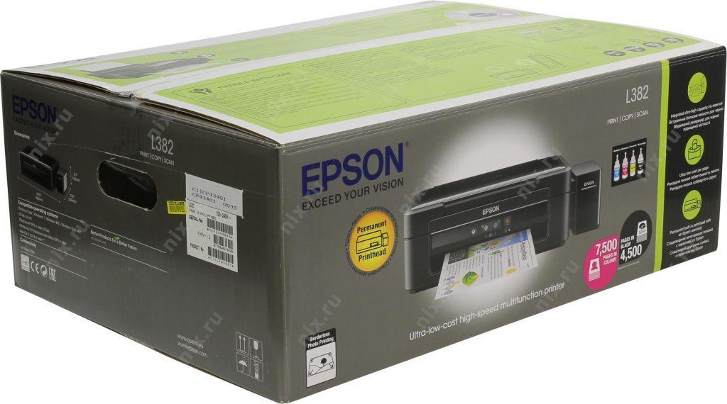 Epson printer l382