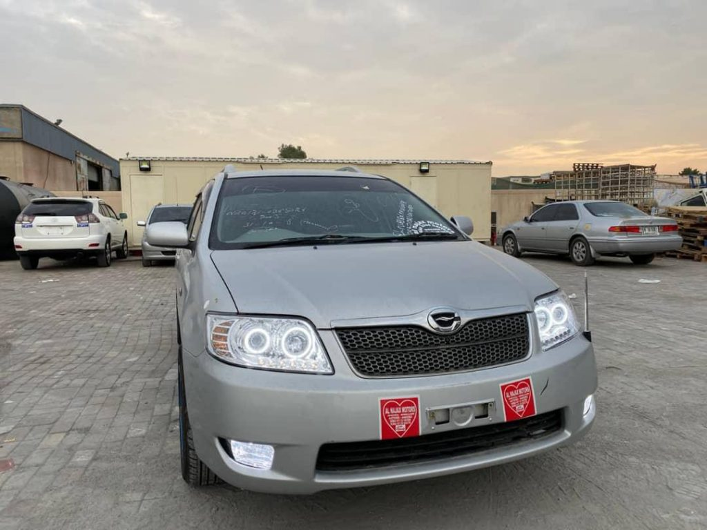 Toyota Corolla Fielder Manual