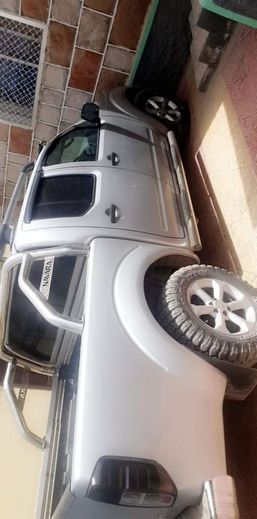 Nissan navara 4×4 pick up iib ah hargeisa