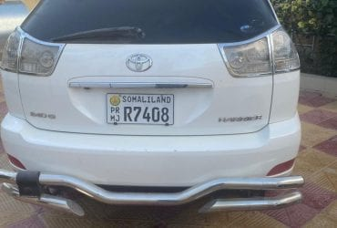 Toyota harier iib ah hargeisa /2009