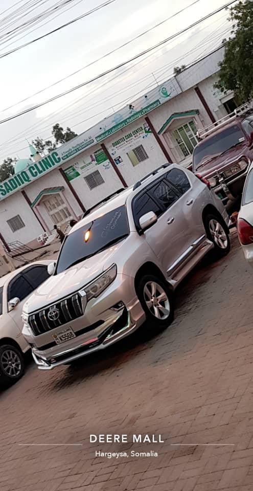 Toyota prado iib ah hargeisa /2010