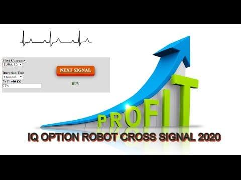 IQ Option Cross Signal Robot 2020