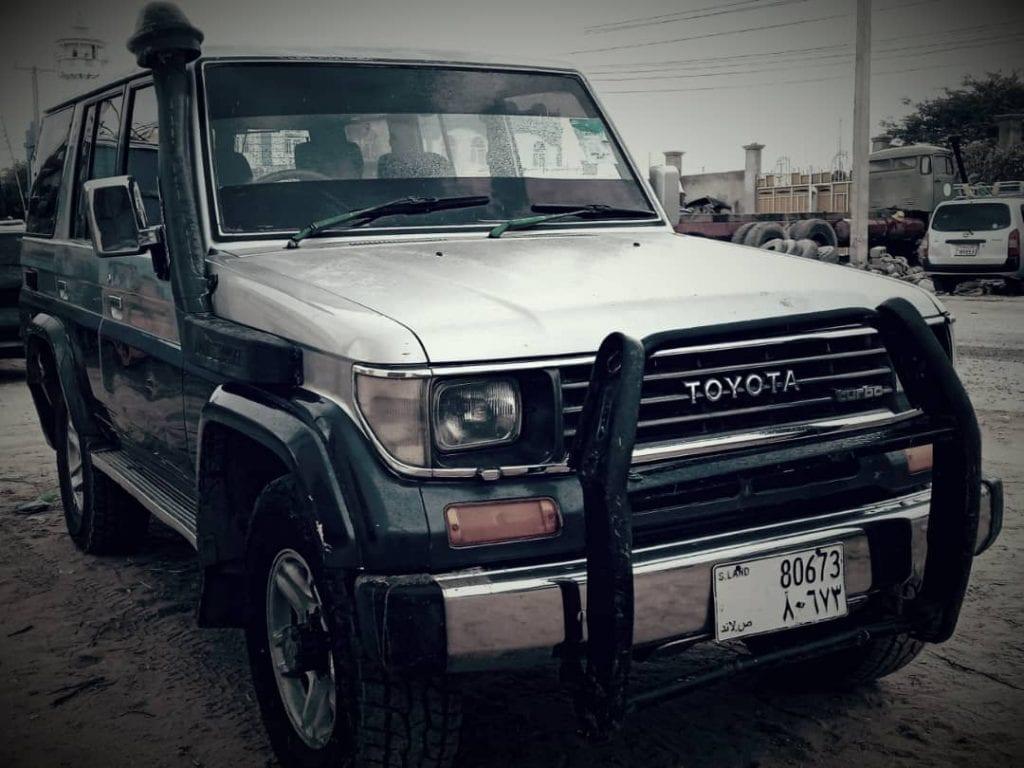 Toyota prado iib ah hargeisa