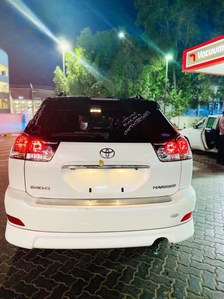 Toyota harier iib ah berbera port