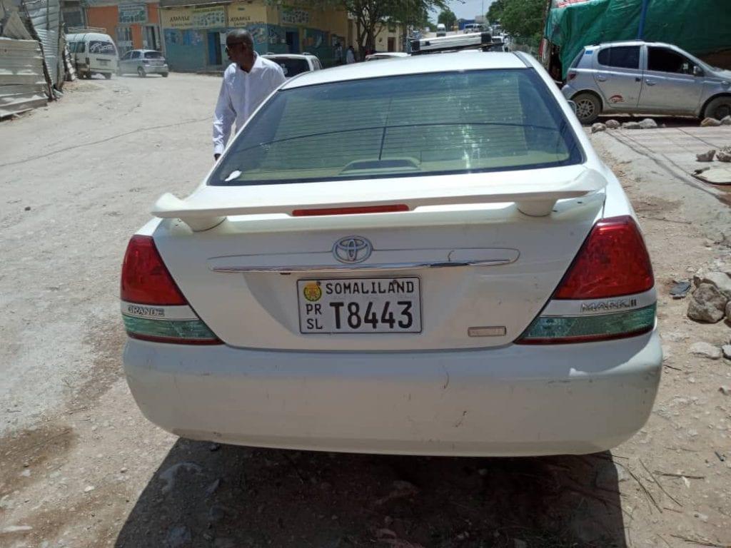 Toyota mark Gx 110 iib ah hargeisa