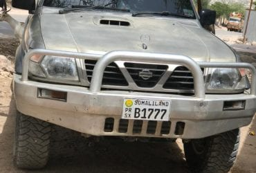 Nissan patrol iib ah hargeisa